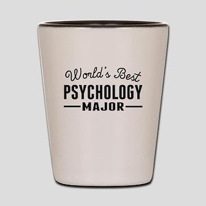 Worlds Best Psychology Major Shot Glass
