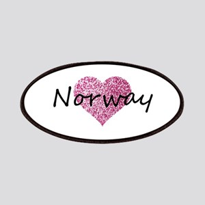 Norway Pink Heart Patch