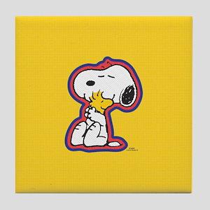 Peanuts Flair Snoopy Tile Coaster