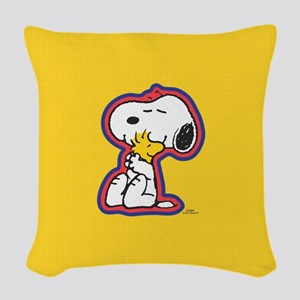 Peanuts Flair Snoopy Woven Throw Pillow