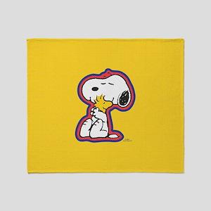 Peanuts Flair Snoopy Throw Blanket