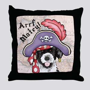 PWD Pirate Throw Pillow