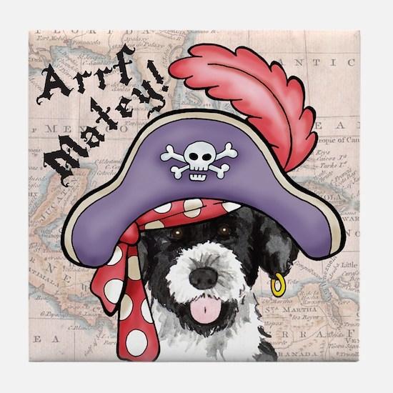 PWD Pirate Tile Coaster