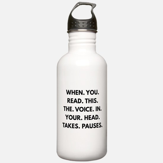 When You Read This Water Bottle