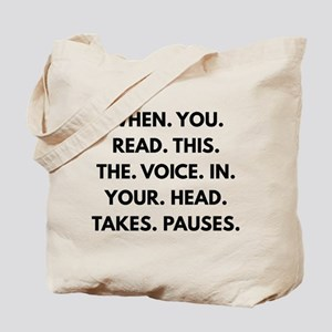 When You Read This Tote Bag