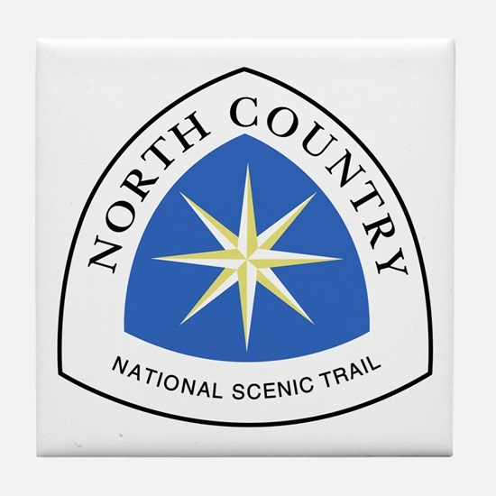 North Country National Trail Tile Coaster