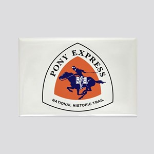 Pony Express National Trail Rectangle Magnet