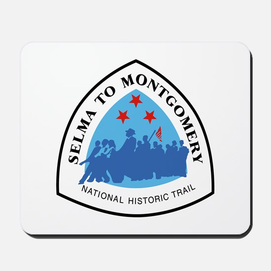 Selma to Montgomery National Trail, Alab Mousepad