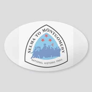 Selma to Montgomery National Trail, Sticker (Oval)
