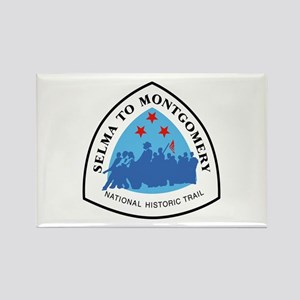 Selma to Montgomery National Trai Rectangle Magnet