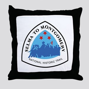 Selma to Montgomery National Trail, A Throw Pillow