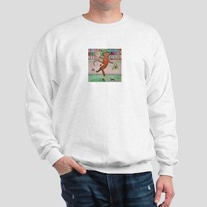 Shopping Sock Monkey Sweatshirt