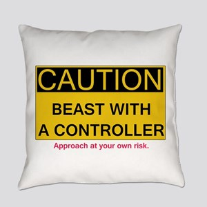 Caution Everyday Pillow
