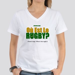 Rugby World Cup Springboks Women's V-Neck T-Shirt