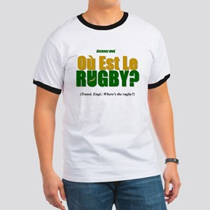 Rugby World Cup Springboks Ringer T