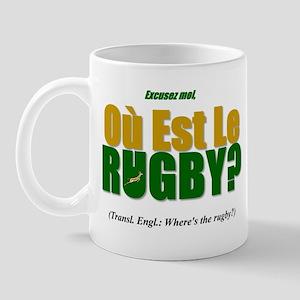 Rugby World Cup Springboks Mug