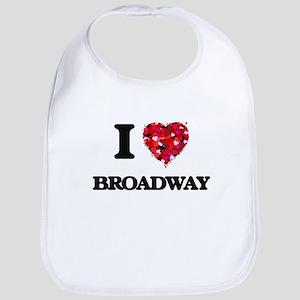 I love Broadway New Jersey Bib