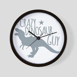 Crazy Dinosaur GUY (T-REX Tyrannosaur) Wall Clock