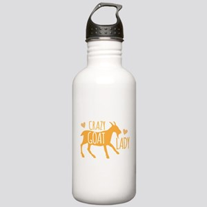 Crazy Goat Lady Stainless Water Bottle 1.0L