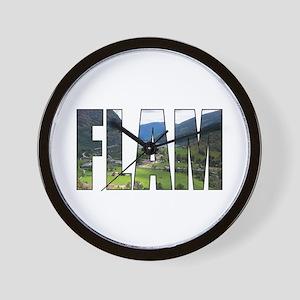Flam Wall Clock