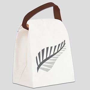 Silver Fern Kiwi New Zealand Canvas Lunch Bag