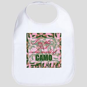Pink Camo Bib