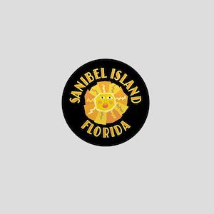 Sanibel Sun - Mini Button