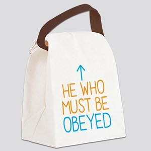 He who must be Obeyed Canvas Lunch Bag