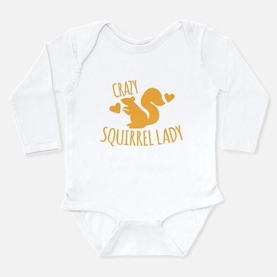 Crazy Squirrel lady Body Suit