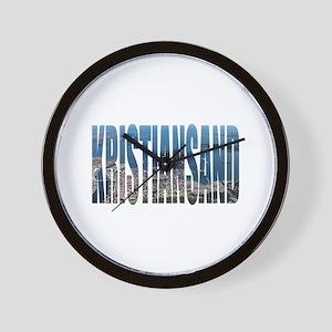 Kristiansand Wall Clock