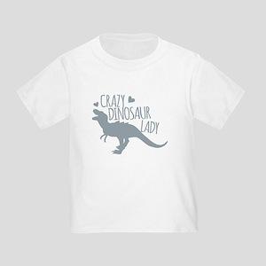 Crazy Dinosaur Lady T-Shirt