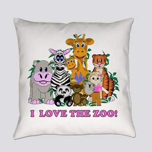 Love The Zoo Everyday Pillow