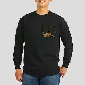 Large Car Long Sleeve Dark T-Shirt