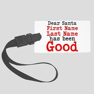 Dear Santa Luggage Tag