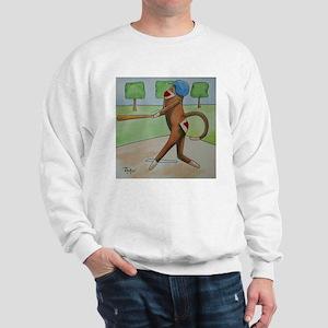 Play Ball Monkey Sweatshirt