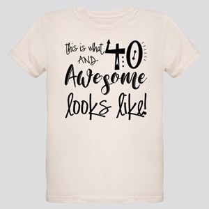 b4a421442 Awesome 40 Years Old Organic Kids T-Shirt
