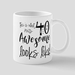 Awesome 40 Years Old Mug