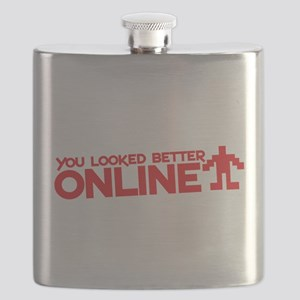 You looked better online Flask