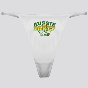 Aussie Party time with Australian ma Classic Thong