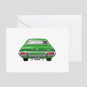 1973 Gran Torino Greeting Card