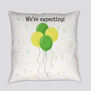 Were Expecting Everyday Pillow