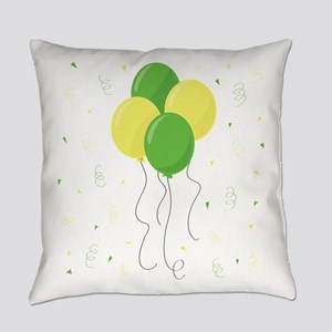 New Baby Balloons Everyday Pillow