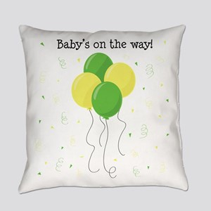 Baby On Way Everyday Pillow