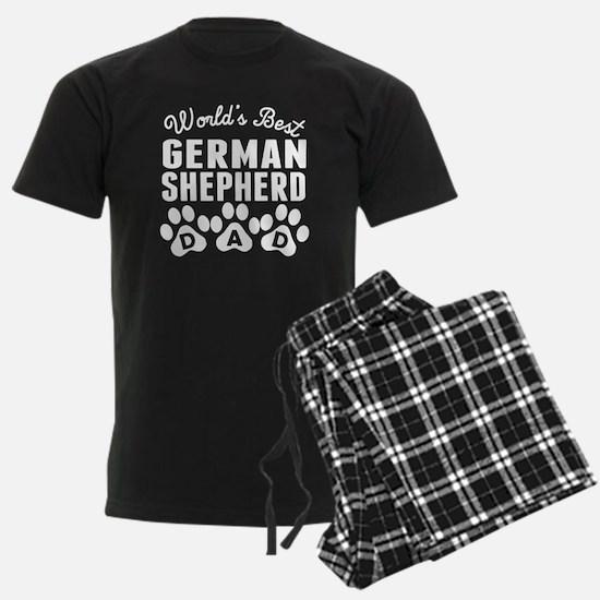 Worlds Best German Shepherd Dad Pajamas