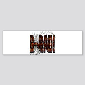 Brad/ B-Rad Bumper Sticker