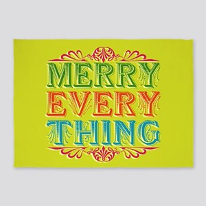 Merry Everything 5'x7'Area Rug