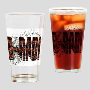 Brad/ B-Rad Drinking Glass