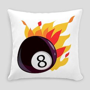 Eight Ball Everyday Pillow
