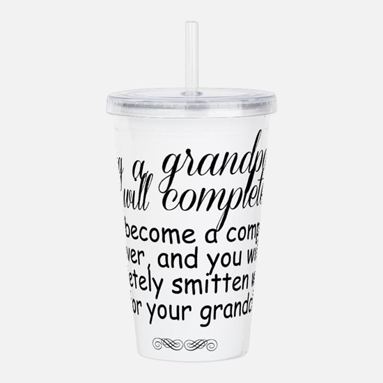being a grandparent Acrylic Double-wall Tumbler