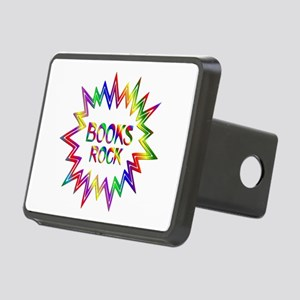 Books Rock Rectangular Hitch Cover